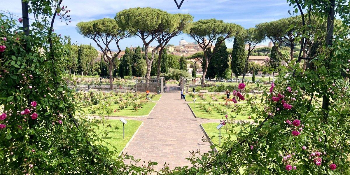 Roseto communale in Rom
