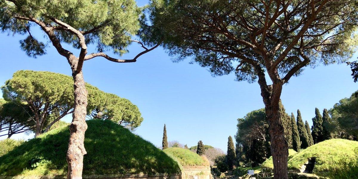 Etrusker nekropole Banditaccia Latium Rom Cerveteri