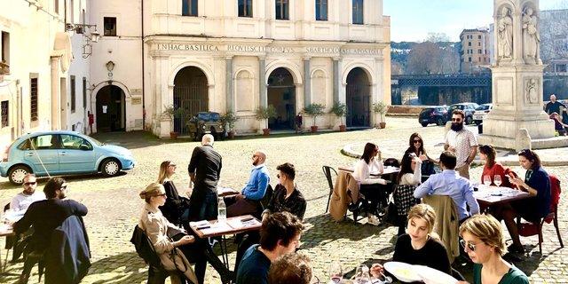 Aktuelle Situation Covid 19 in Rom Italien corona Maßnahmen Regeln