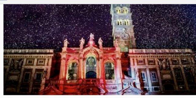 Santa Maria Maggiore Lichtershow