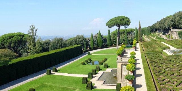Die Gärten des Castel Gandolfo