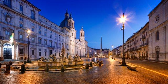 Die quirlige Altstadt Roms