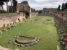Palatin Kaiserpalast Rom Hippodrom